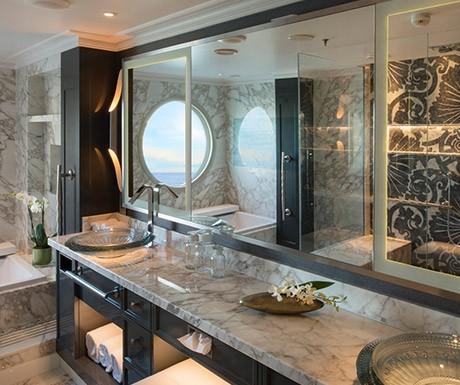 Crystal Symphony Penthouse Bathroom