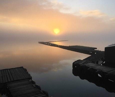 Sunrise at Beaver Sailing Club