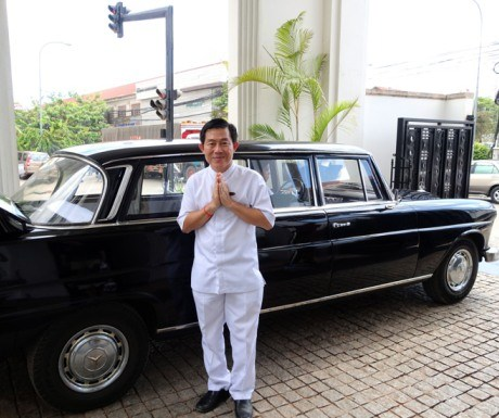 Top 5 Hotel Perks-Complimentary Transfer to Amansara-Siem Reap Cambodia