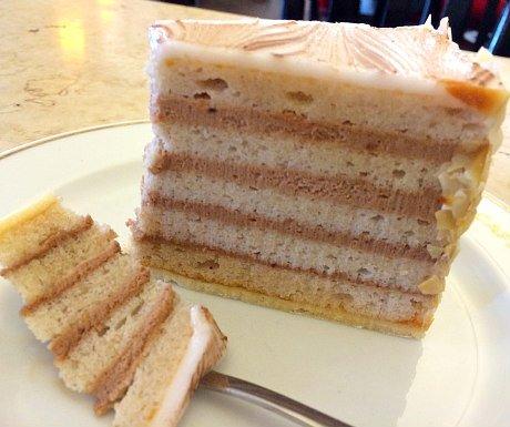 Austrian Cakes: Esterhazy Torte