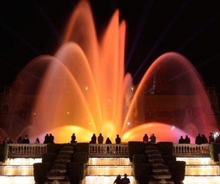 Monjuic Magic Fountain Show