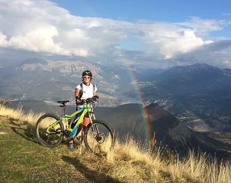 Biking with Undiscovered Mountains