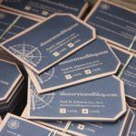 Celebrating over a million social media followers with some new business cards