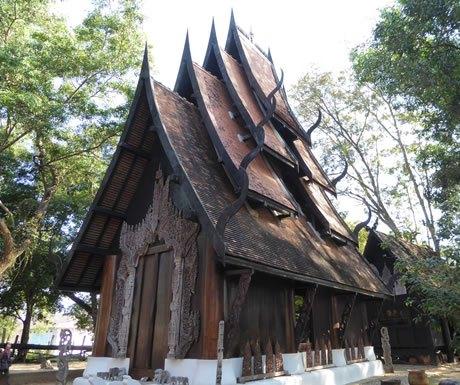 Baandam Museum (Thai for 'black house')
