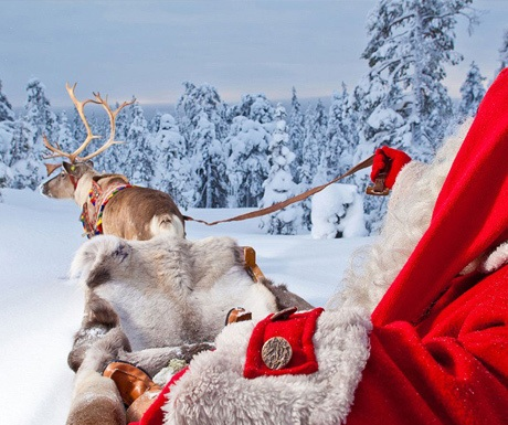 Celebrate Christmas in Lapland, Finland