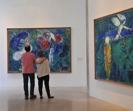 Chagall Museum in Nice, France