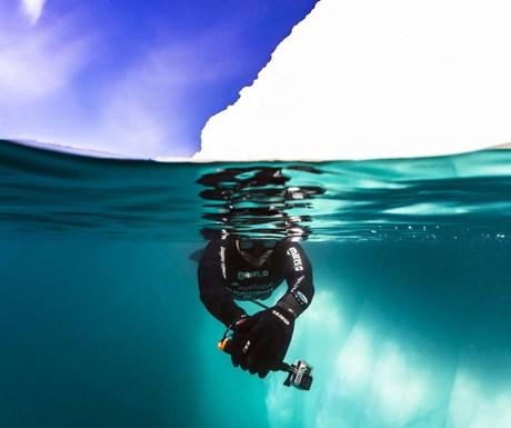 Dive under the Arctic seas