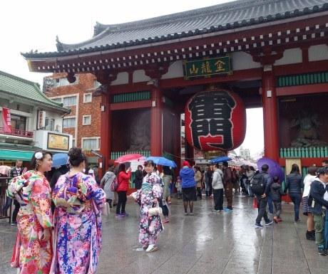 Entrance to Sensoji Temple Asakusa