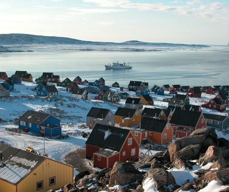 Explore the towns of Greenland