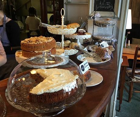 Harrys Cafe Bar cakes