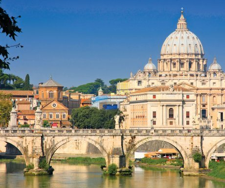 Italy_dreamstime_vatican city view from ponte umberto