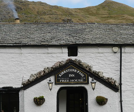 Kirkstone Pass Inn entrance
