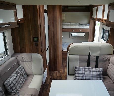 Motorhome living space
