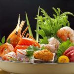 Regal Airport Hotel sashimi platter
