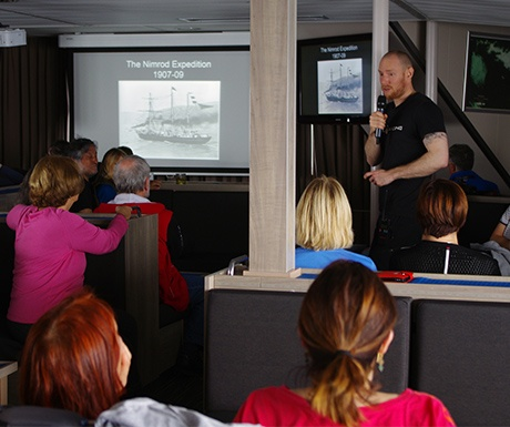 Some cruises offer lectures & workshops