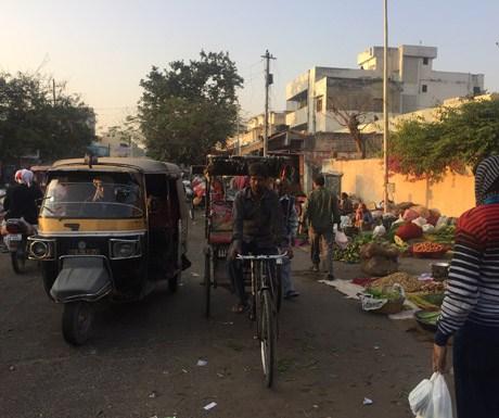 Sunrise through Jaipur