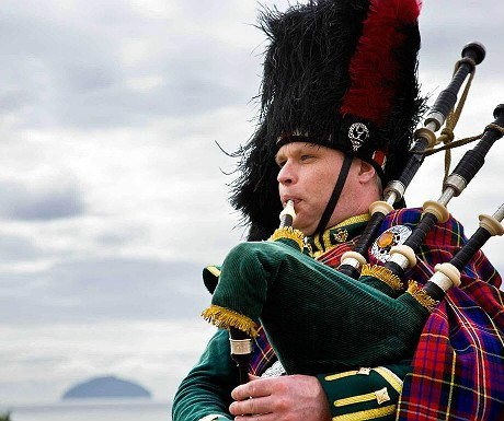Turnberry bagpipes