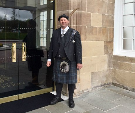 Turnberry welcome