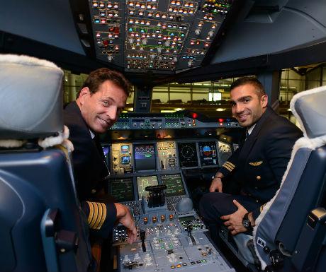 Visit the cockpit