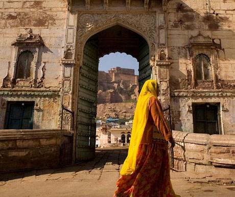 Walking around jaipur