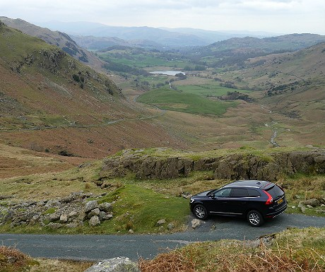 Wrynose Pass with Hertz