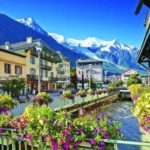 Chamonix in full summer bloom