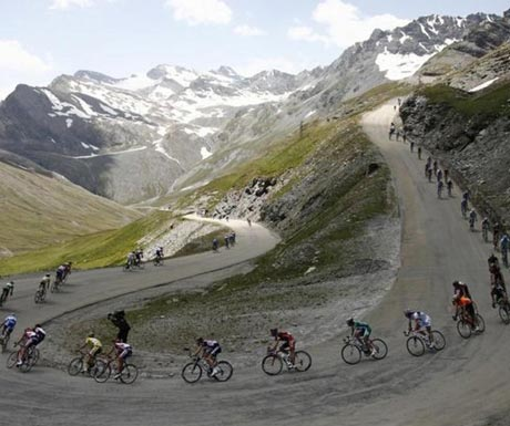 The epic accent of Col-du-Galibier