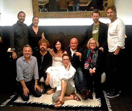 Game of Thrones on Sofa Carmen Guillemot Wrap Dinner