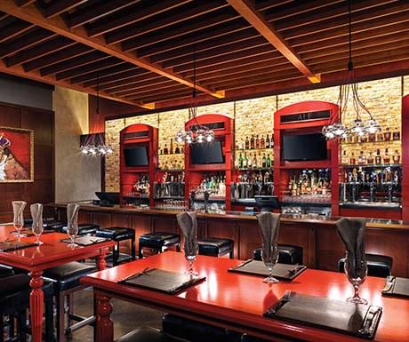 Gordon Ramsey's Pub and Grill is Caesars Palace, Las Vegas