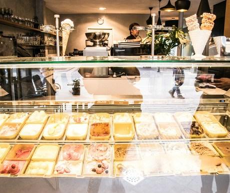 Ice cream in Domburg