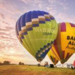 5 of the world's most breathtaking hot air balloon flights