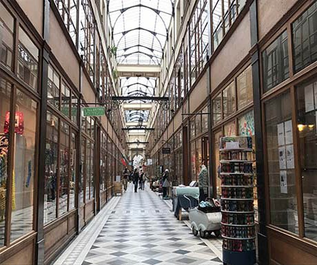 finding five of the secret covered passages of paris a luxury travel blog a luxury travel blog. Black Bedroom Furniture Sets. Home Design Ideas