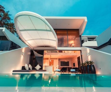 Kata-Rocks-1-Bed-Ocean-Loft-Sky-Villa-Pool-Sunset