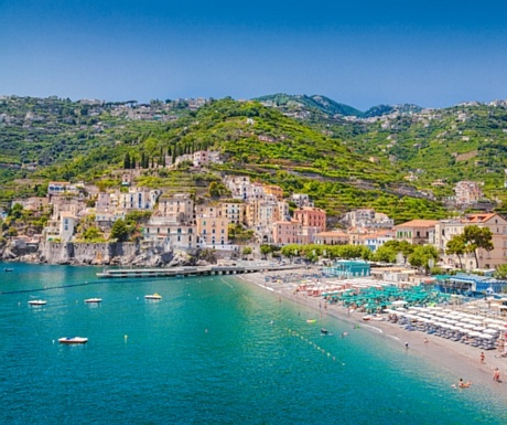 Minori Beach, Amalfi Coast