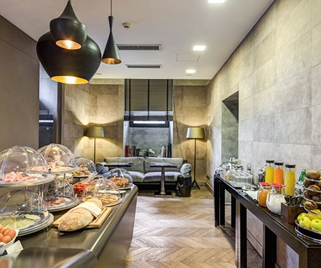 Residence Palazzo Al Velabro breakfast room