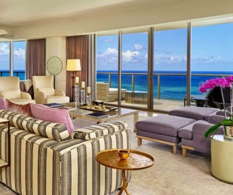 St. Regis Bal Harbour Presidential-Suite-Living-Room
