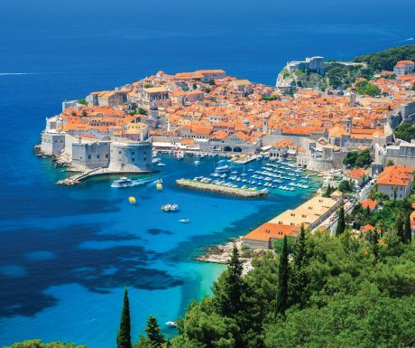 Old Town Dubrovnik, Adriatic Sea