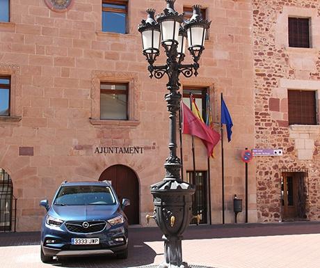 Vilafames Spain car outside town hall