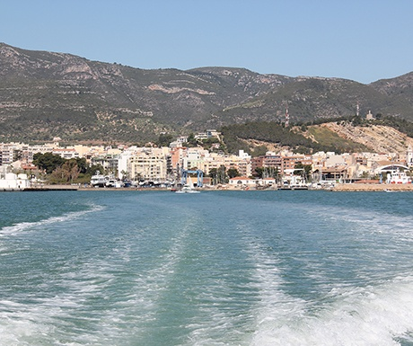 boat trip Delta de l'Ebre Catalonia