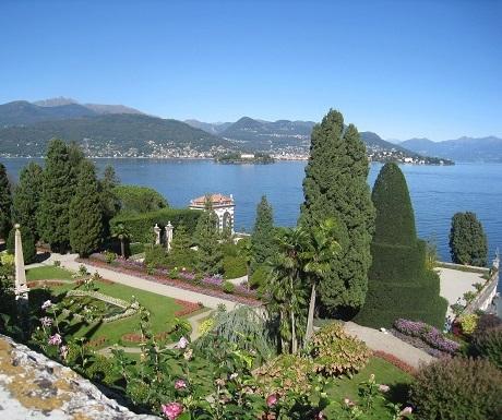 Lake Maggiore, Palazzo gardens1