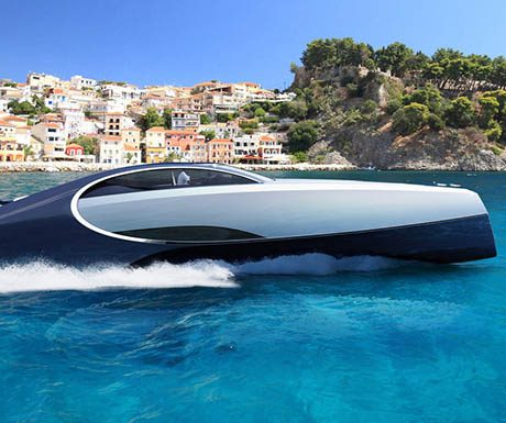 Bugatti Niniette 66 superyacht