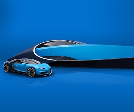 Bugatti+Niniette 66 and Chiron