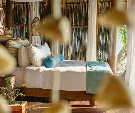 Calala private island bedroom
