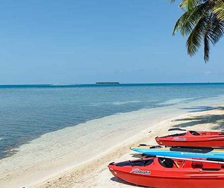 Calala private island boats