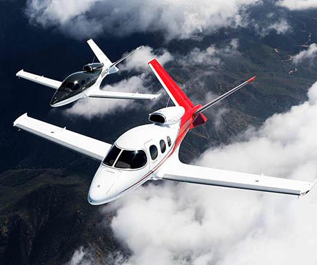 Cirrus Vision most affordable private jet in the world