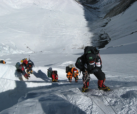 Mount Everest Ice Snow Mountains Winter Face