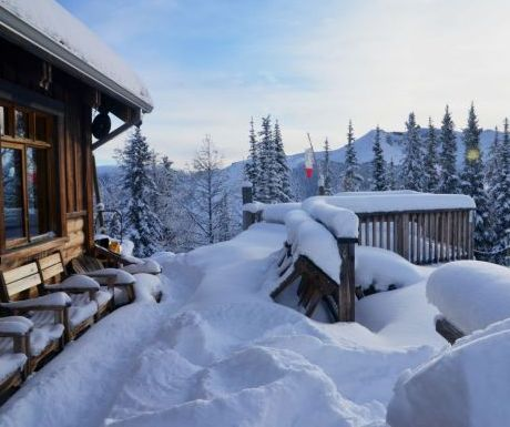 Panorama Hut Snow