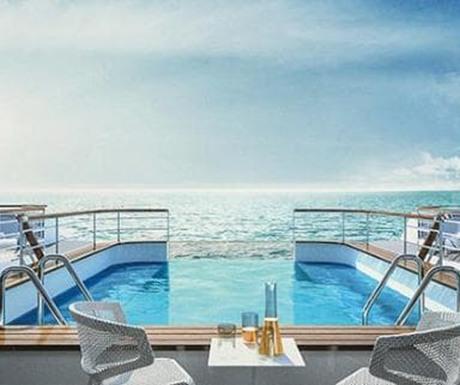 Ponant new ships infinity pool