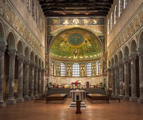Ravenna mosaics Italy