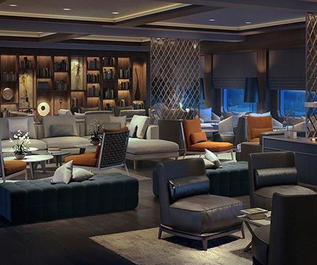 Ritz Carlton Cruise Living Room